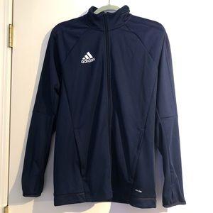 Adidas Women's Size Medium Navy Full-Zip Jacket